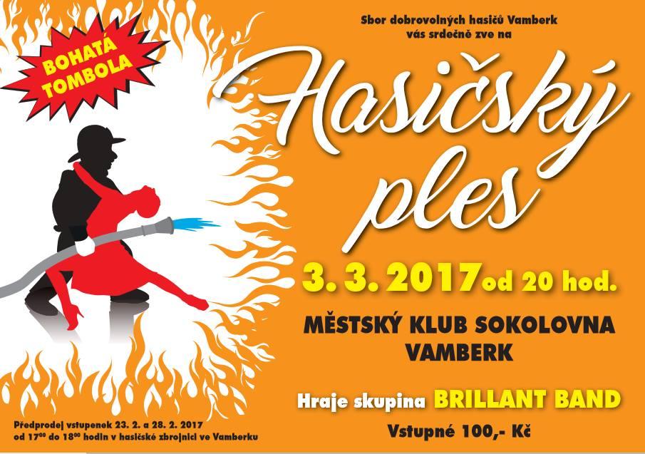 3.3.2017 - Hasičský ples