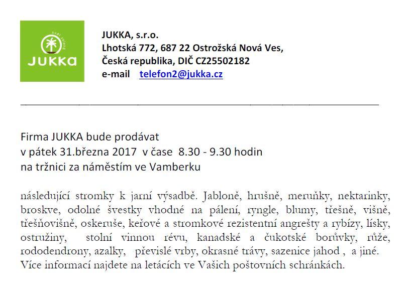 Stromky Vamberk