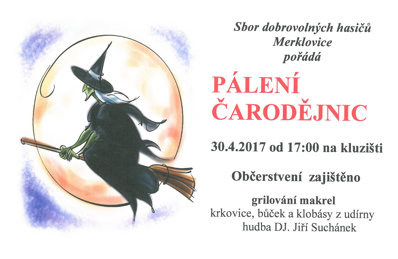 30.04.2017 - Pálení čarodějnic Merklovice