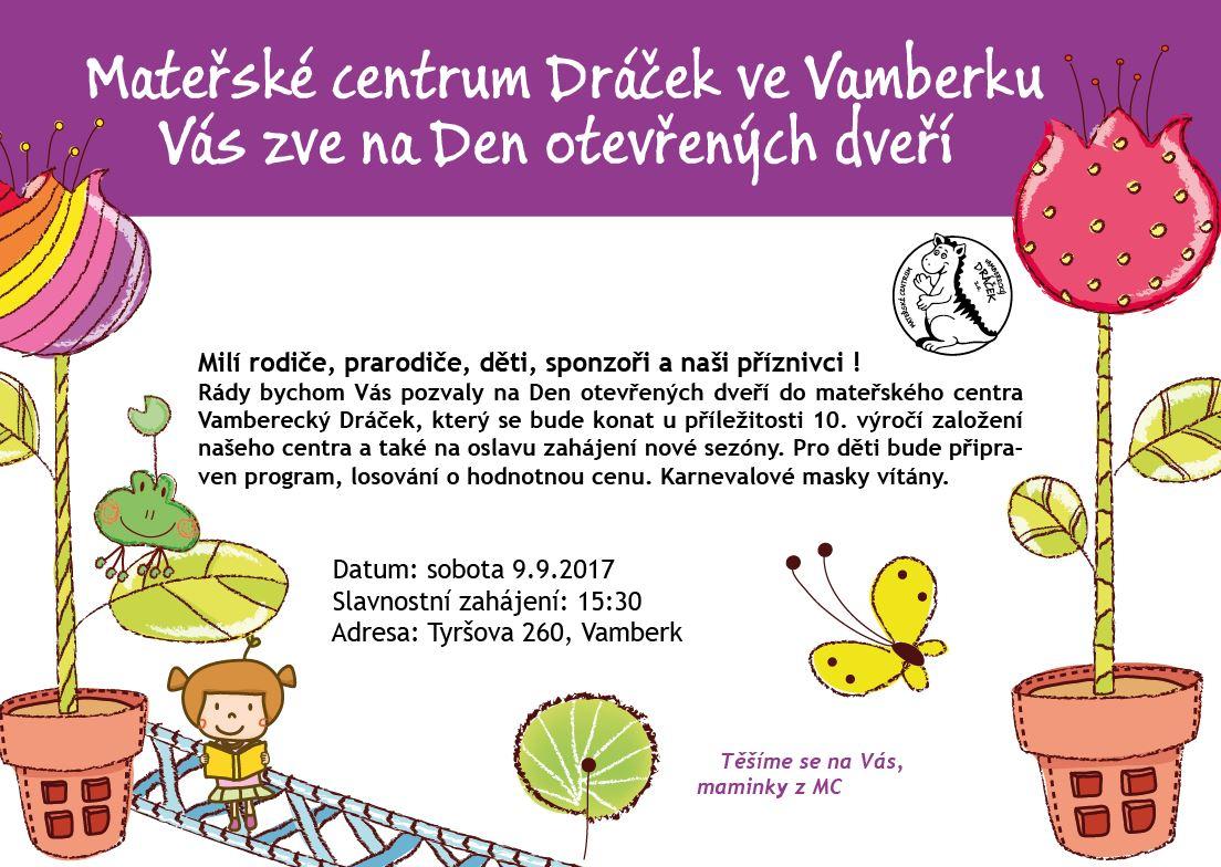 09.09.2017 - Den otevřených dveří - MC Dráček
