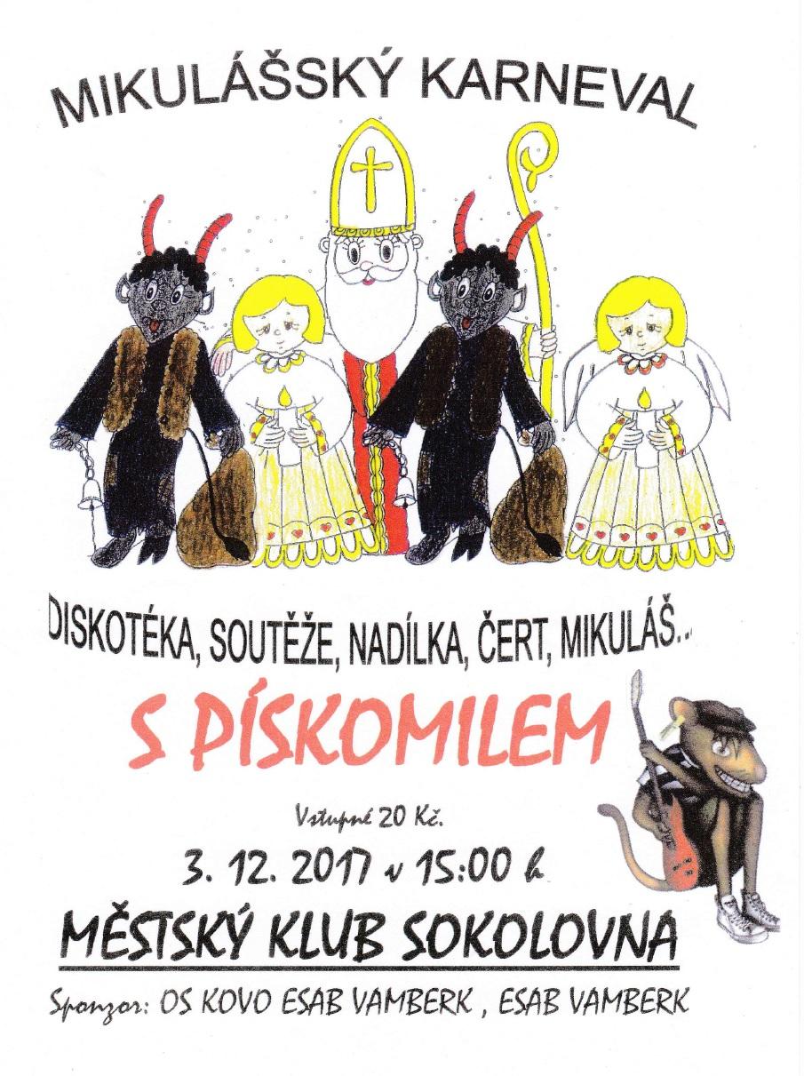 03.12.2017 - Mikulášský karneval