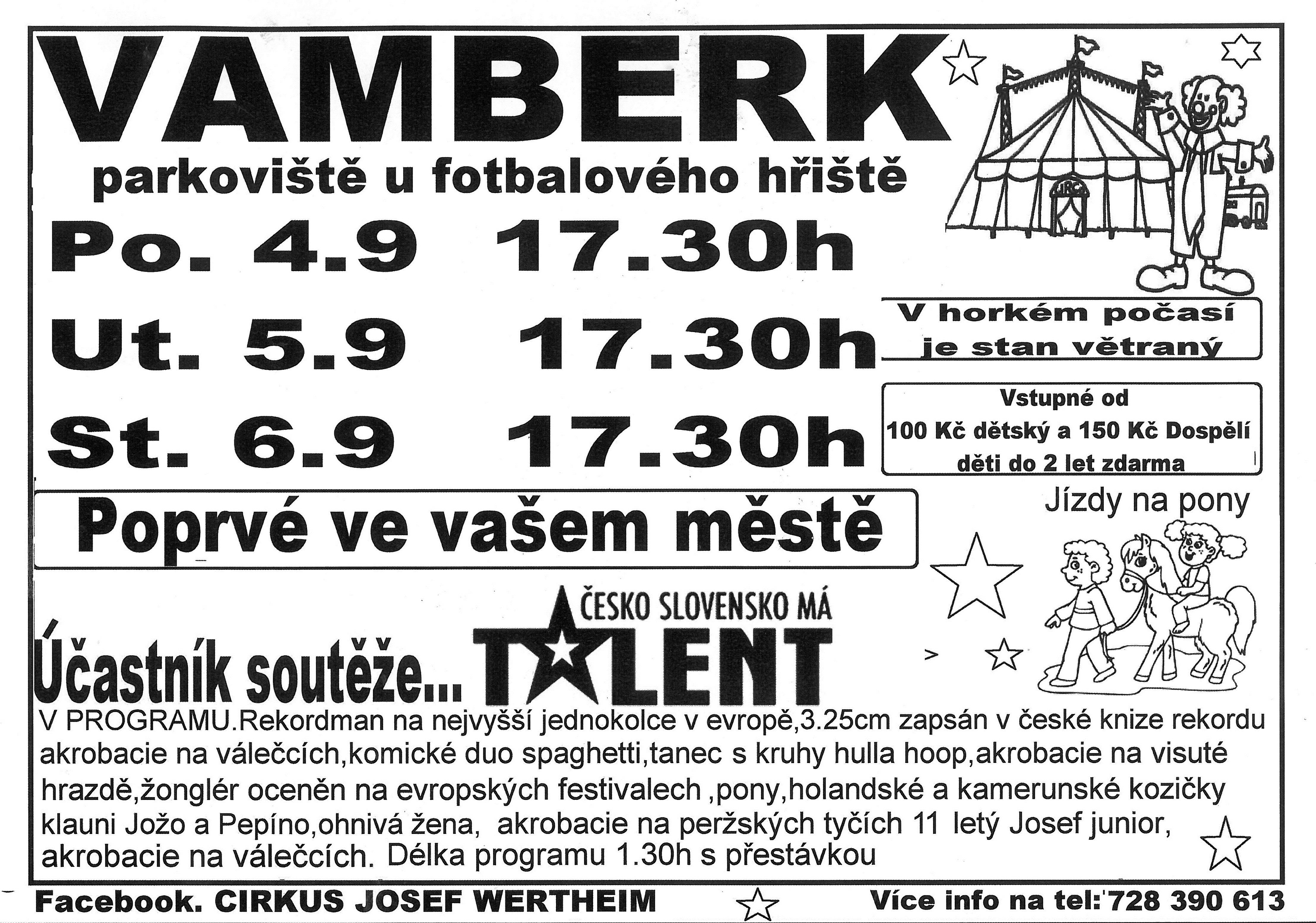 04. - 06.09.2017 - Cirkus Wertheim