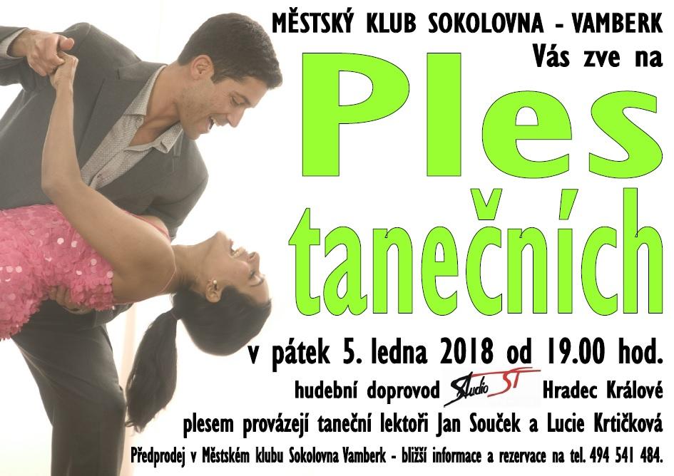 05.01.2018 - Ples tanečních