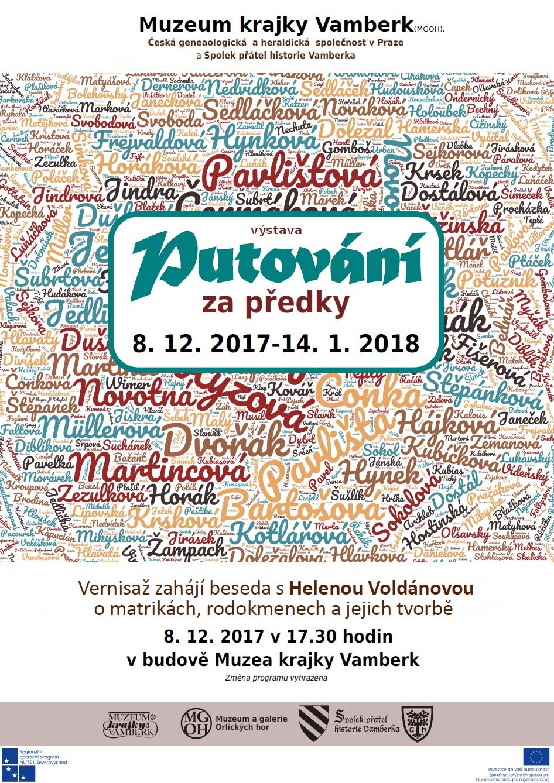 08.12.2017 - Výstava Putování za předky