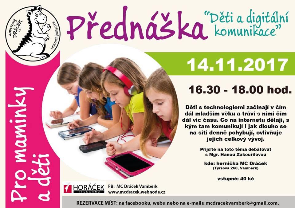 14.11.2017 - Přednáška - MC Dráček
