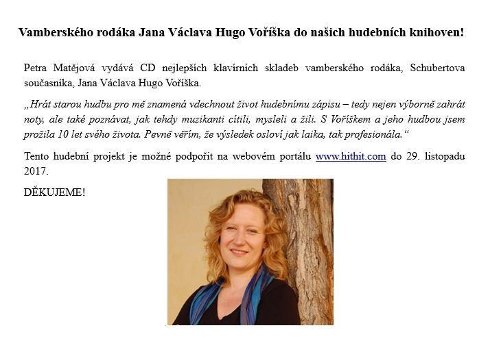 CD Petra Matějová