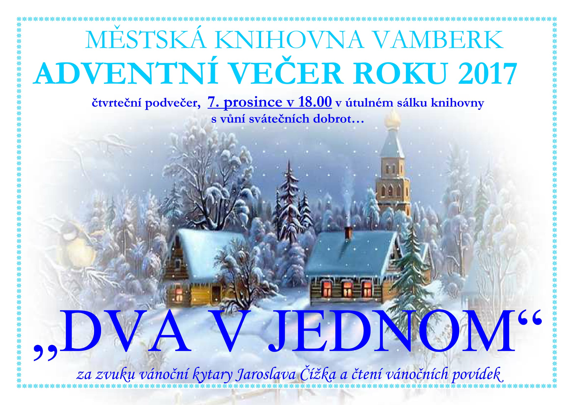 Adventni vecer 2017
