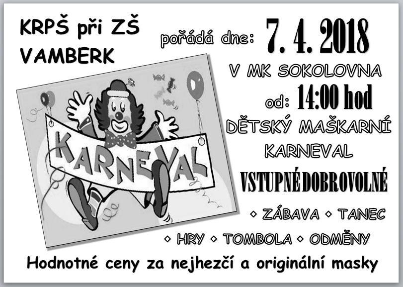 07.04.2018 - Karneval KRPŠ