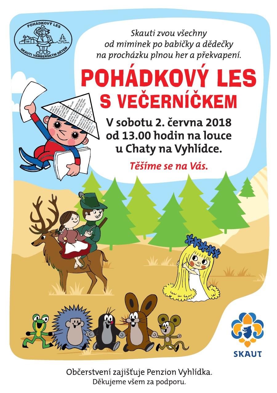 02.06.2018 - Pohádkový les - Skauti