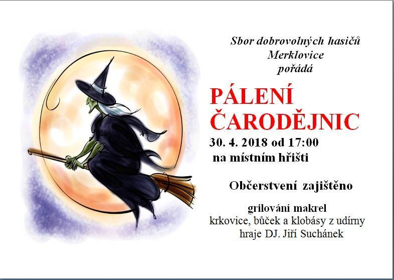 30.04.2018 - Čarodějnice - SDH Merklovice