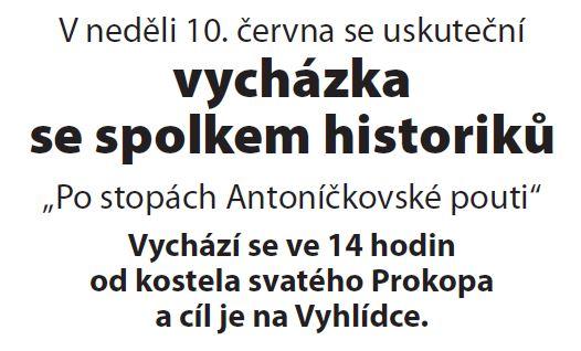 10.06.2018 - Vycházka se spolkem historiků