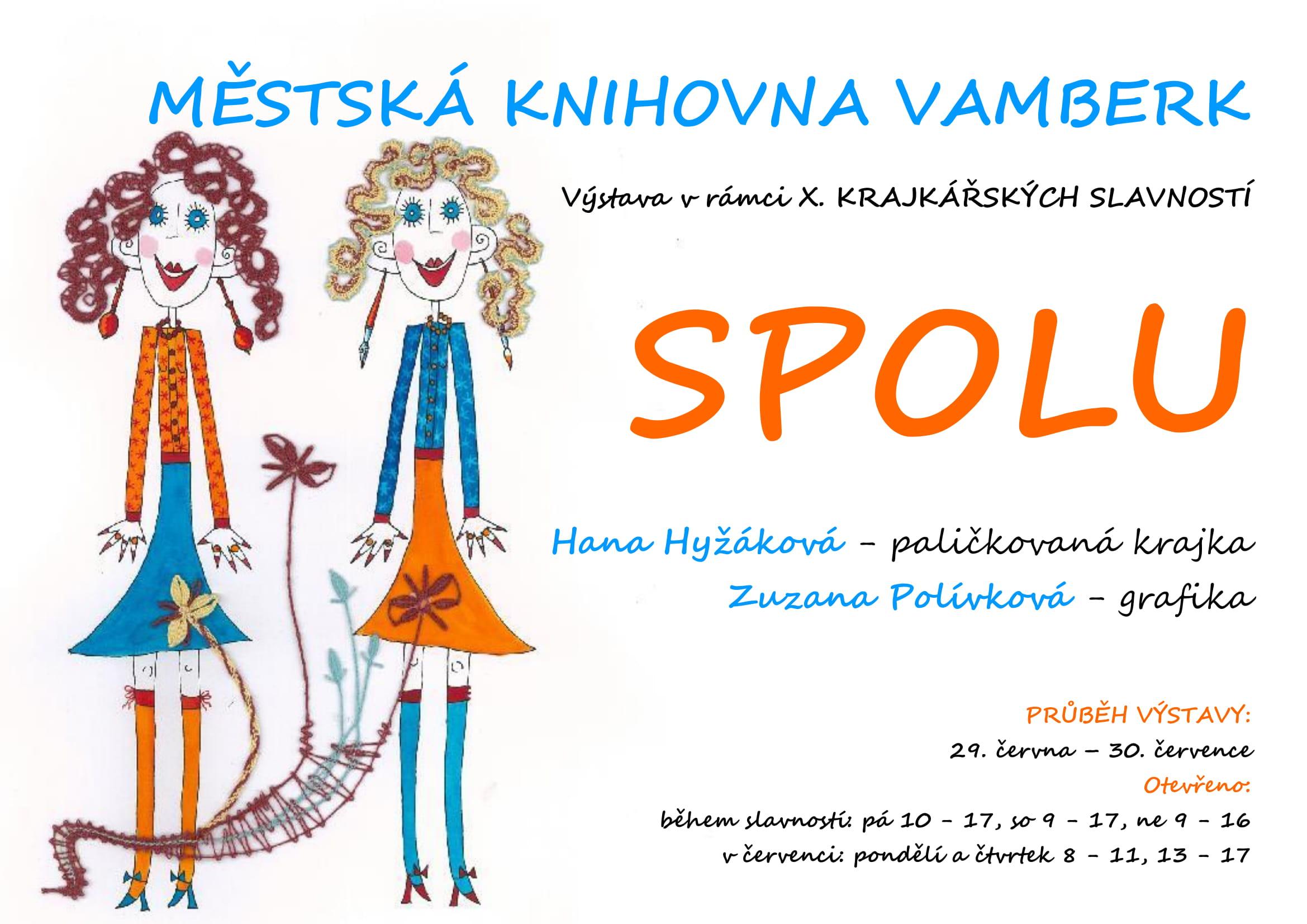 Výstava SPOLU - návrh plakátu IV