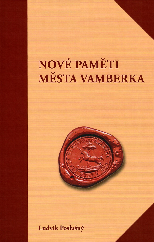 kniha Nové paměti města Vamberka