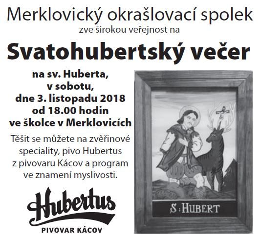 03.11.2018 - Svatohuberský večer