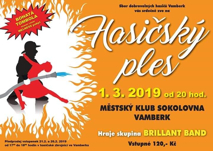 01.03.2019 - Hasičský ples