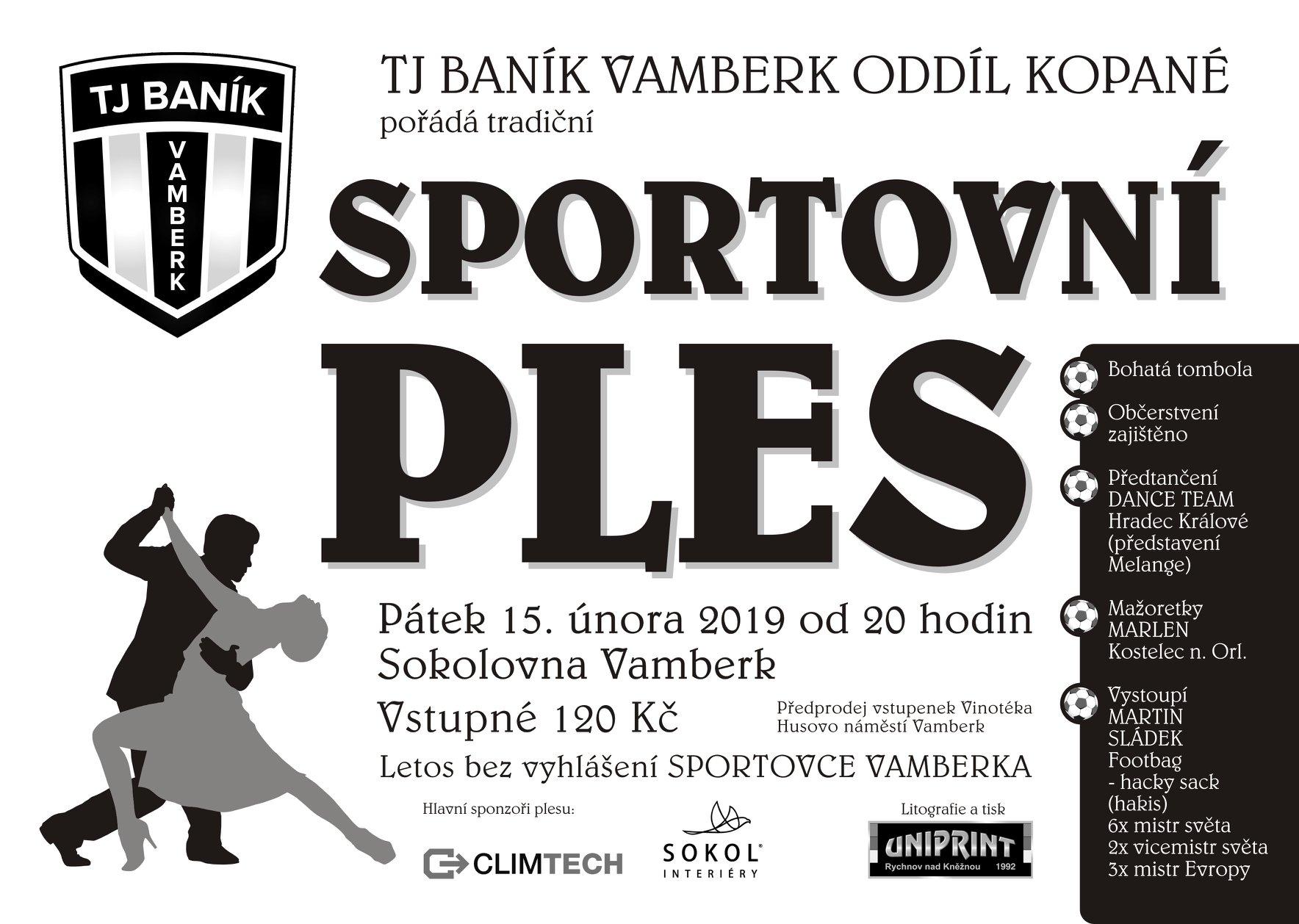 15.02.2019 - Sportovní ples