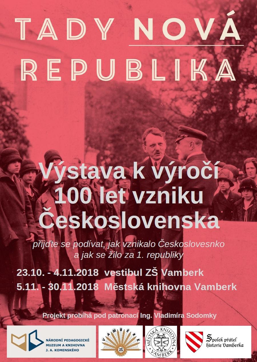 Výstava k výročí 100 let ČS