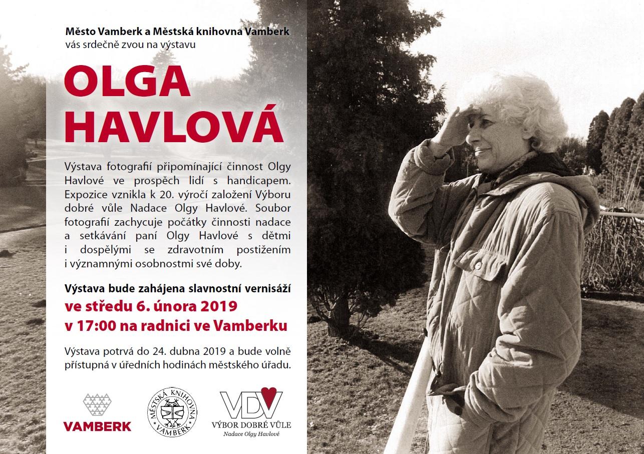 06.02. - 24.04.2019 - Výstava OLGA HAVLOVÁ