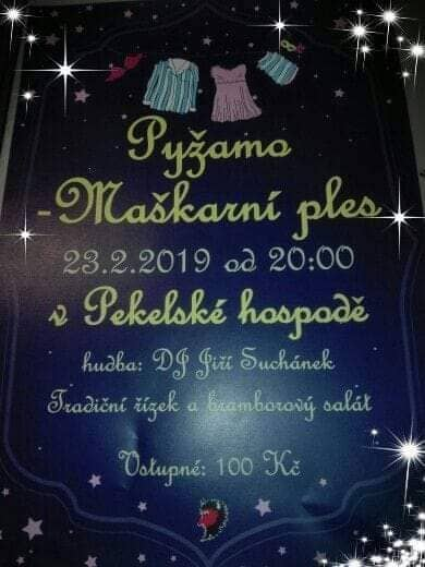 23.02.2019 - Pyžamo-maškarní ples Peklo