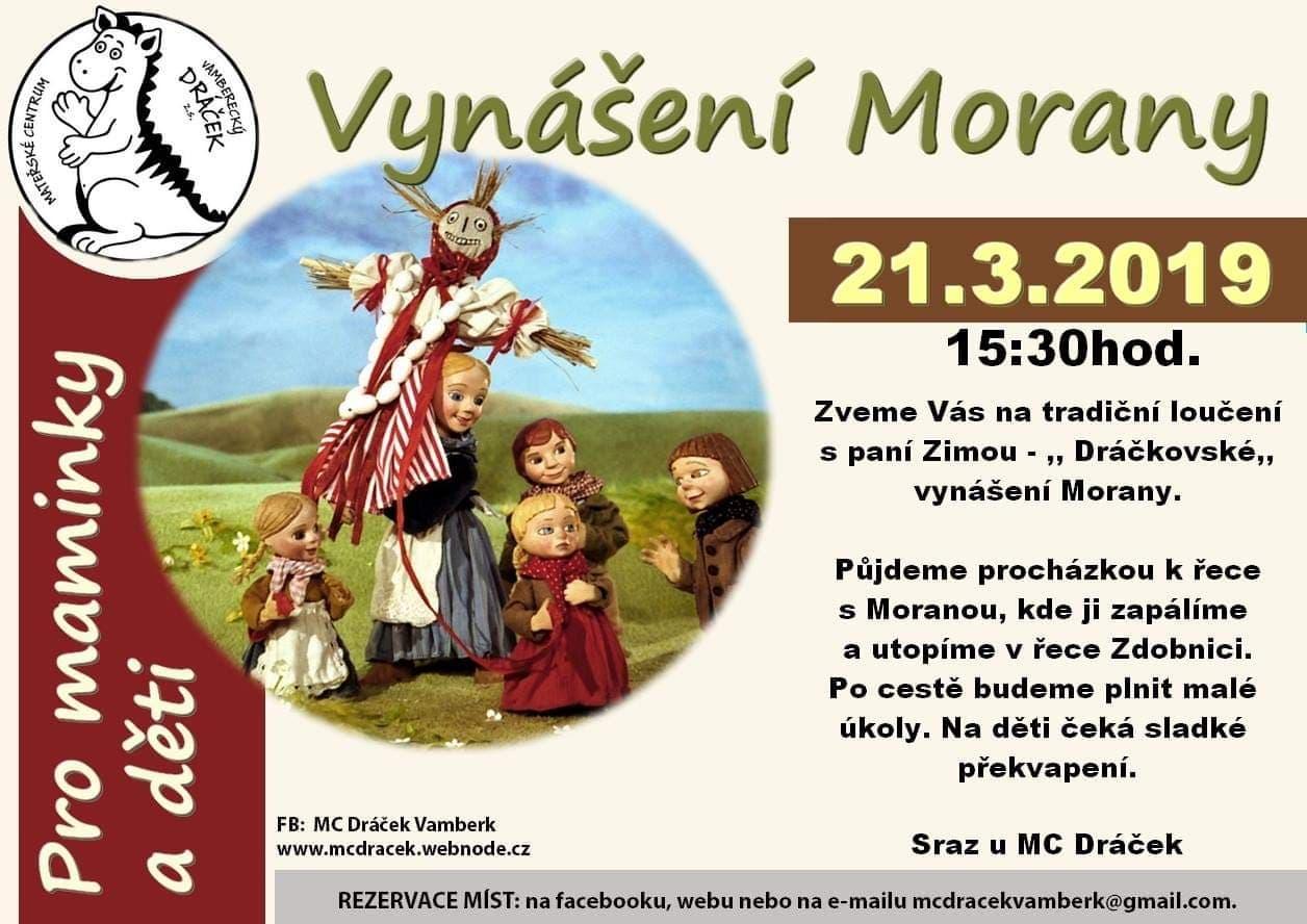 21.03.2019 - Vynášení Morany - MC Dráček