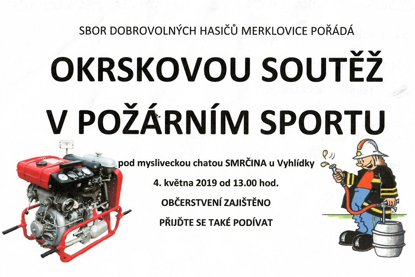 04.05.2019 - Okrsková soutěž - SDH Merklovice