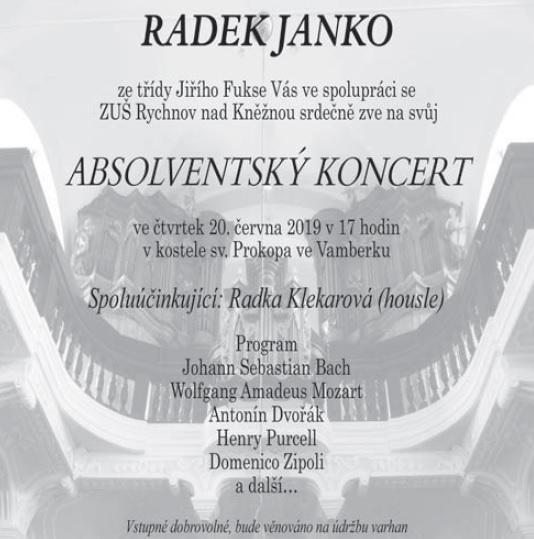 20.06.2019 - R. Janko - Absolvenstký koncert
