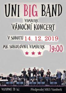 Plakát - Uni big band 2019 LG