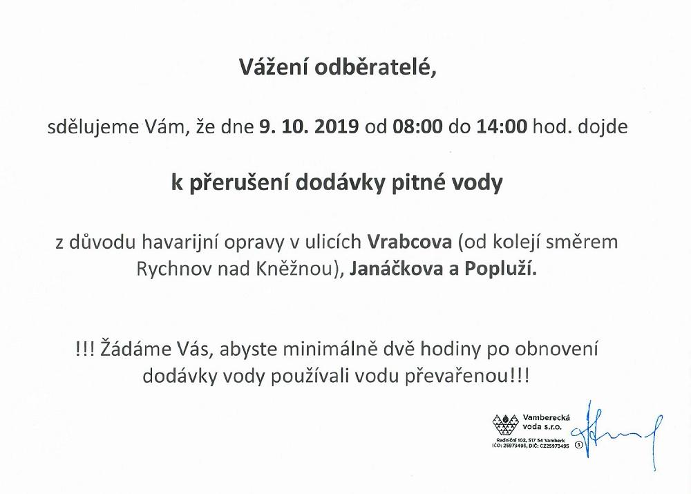 09.10.2019 - Voda