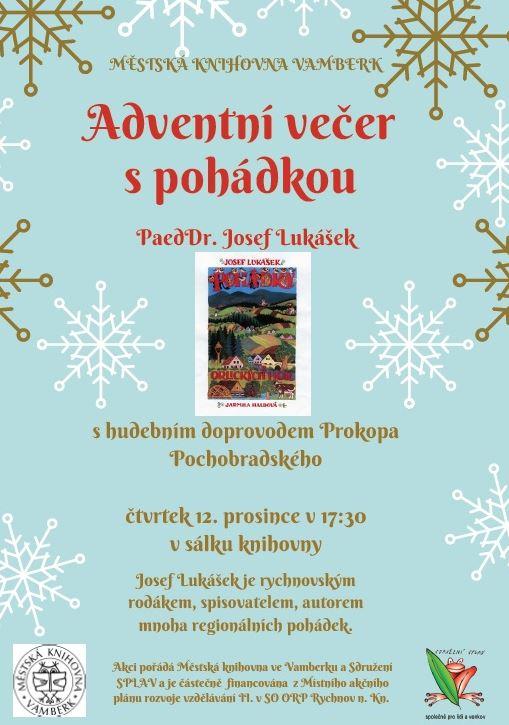 12.12.2019 - Adventní večer s pohádkou
