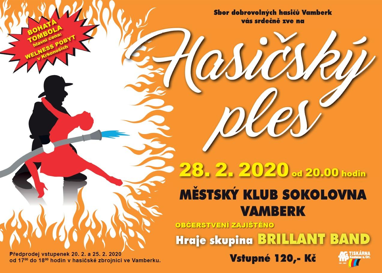 28.02.2020 - Hasičský ples