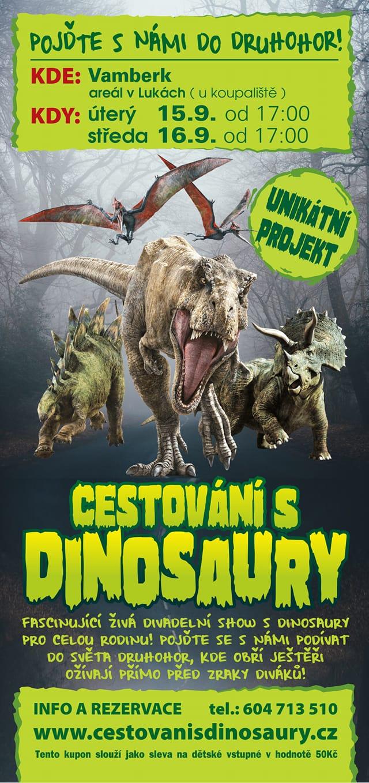 15. a 16.09.2020 - Cestování s dinosaury