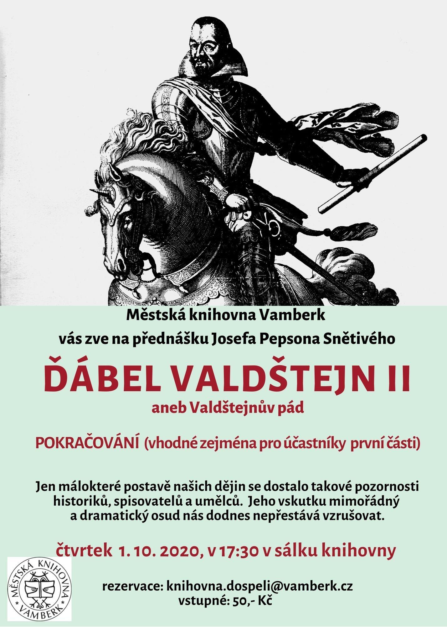 přednáška Valdštejn (1)